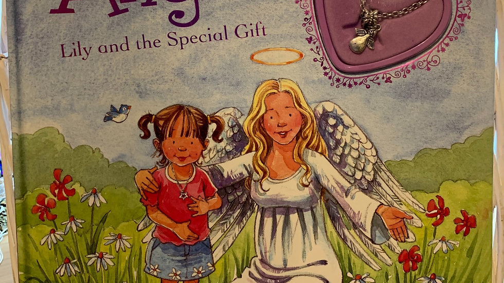 Angel Book With Necklace Gift