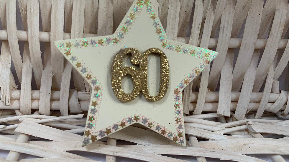 Celebration Wooden Standing Star