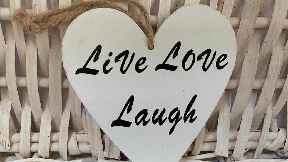 Live, Love, Laugh Sign