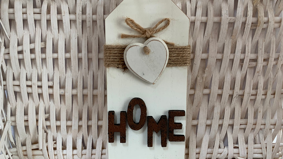 Wooden Standing Home Sign