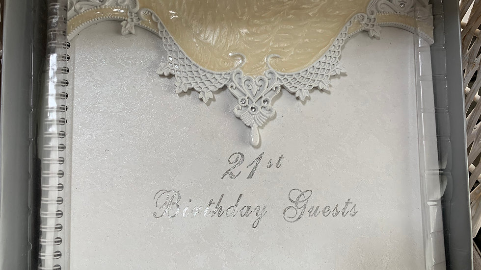 21st Birthday Guest Book