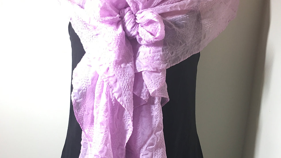 Tinkerbell Charm Pink Scarf