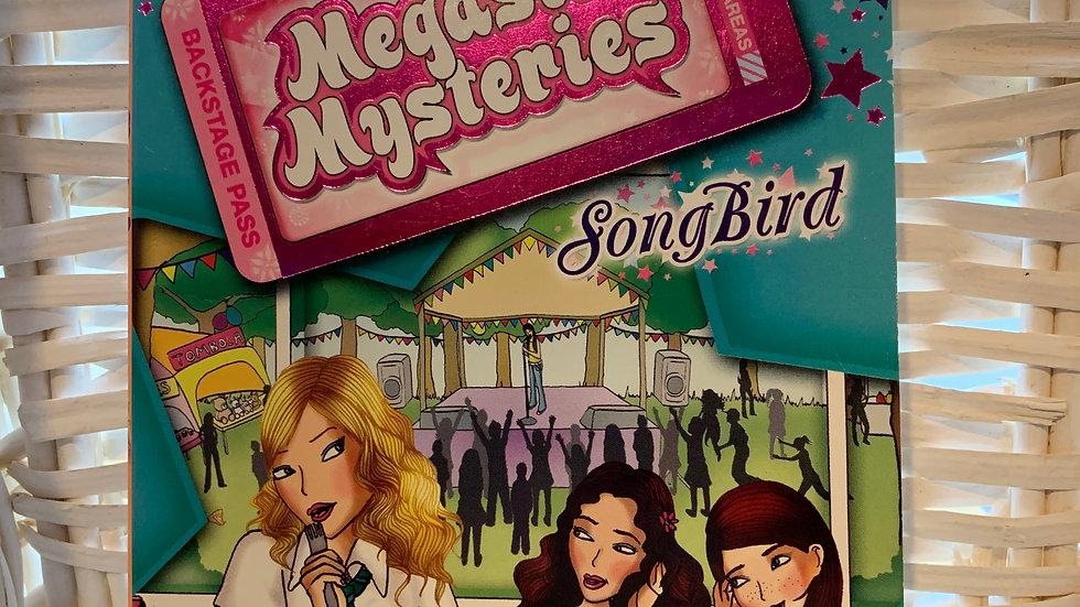 Megastar Mysteries Book