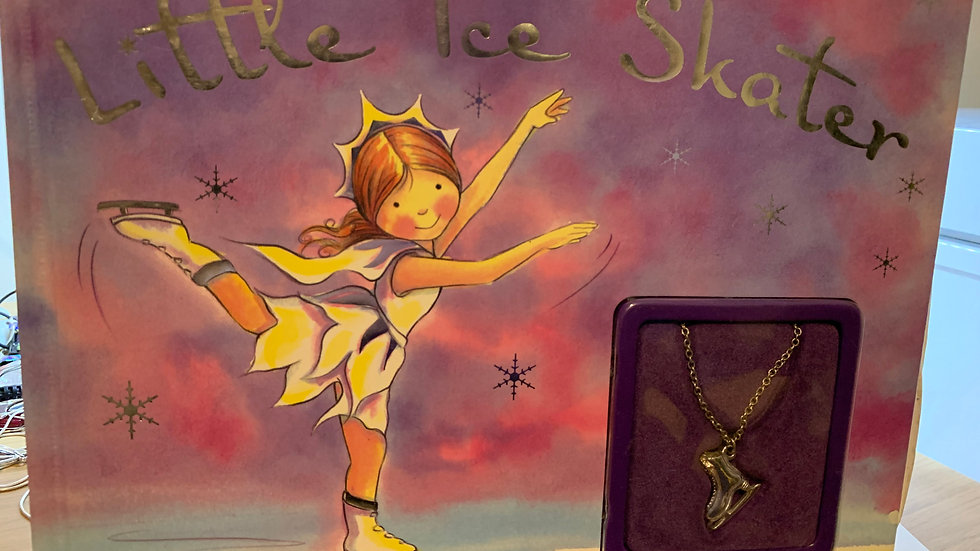 Little Ice Skater Book with Gift