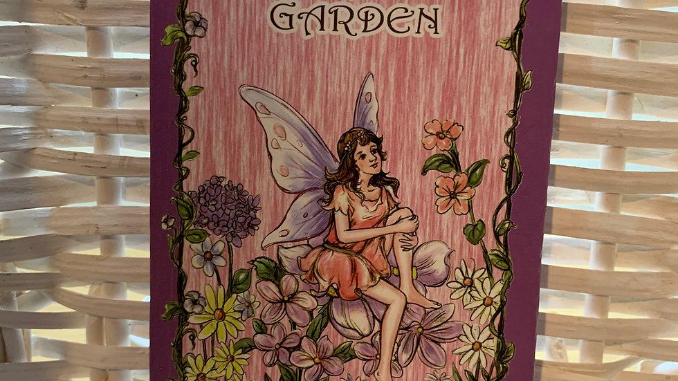 Enchanted Garden Fairy Notebook