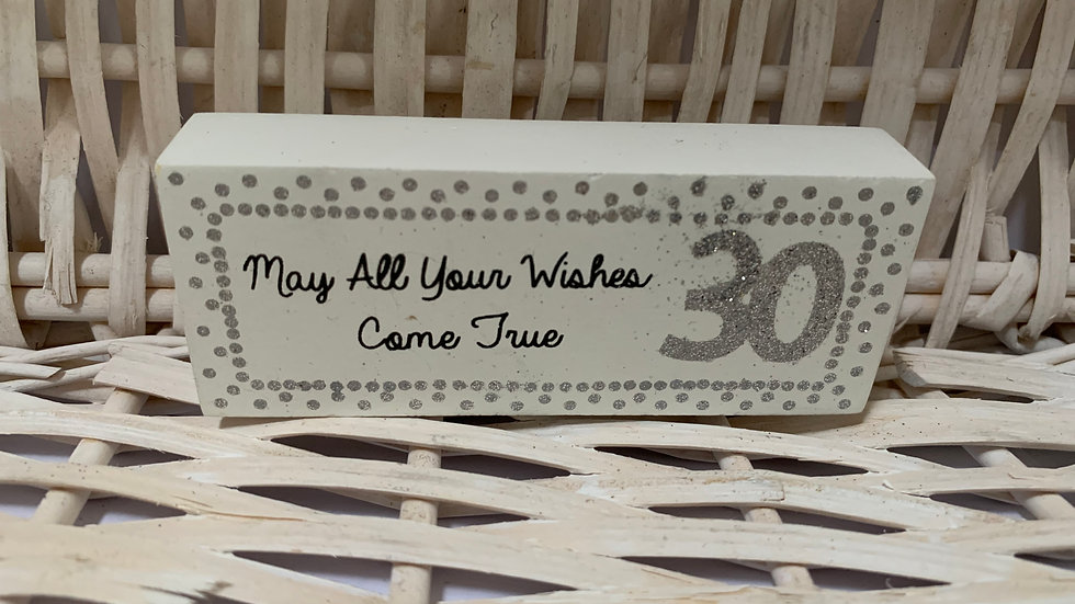 Special Birthday Wooden Signs
