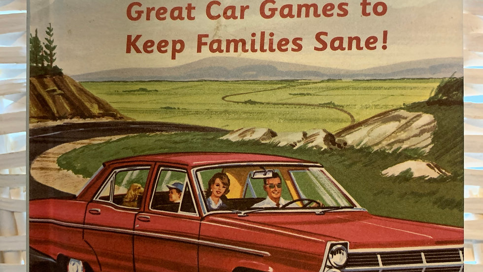 Are We There Yet? Car Game Book