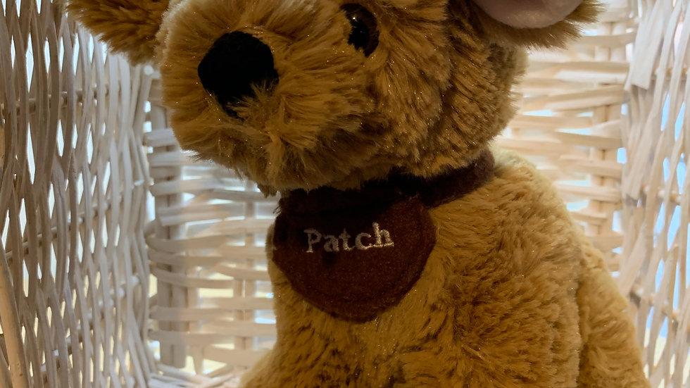 Patch Soft Toy Dog