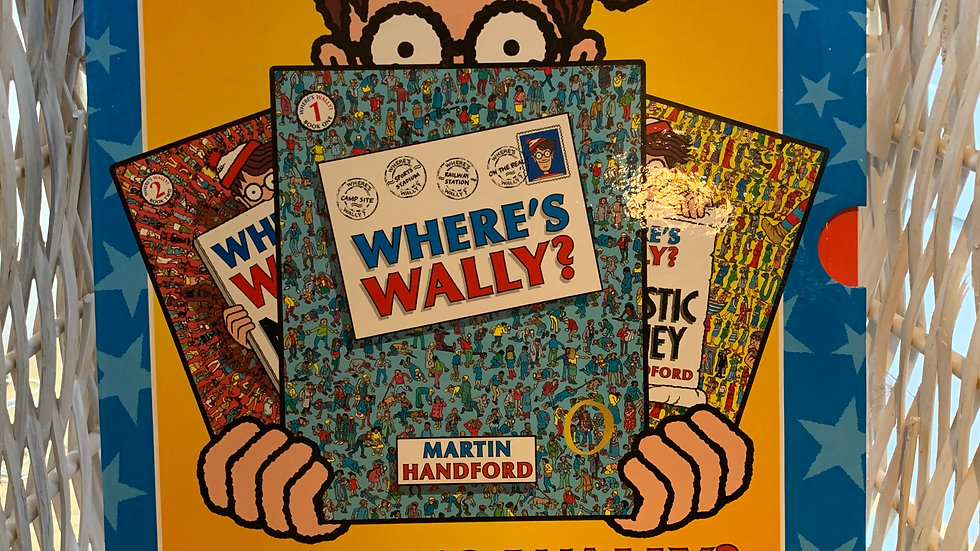 Where's Wally? 3 Book Collection