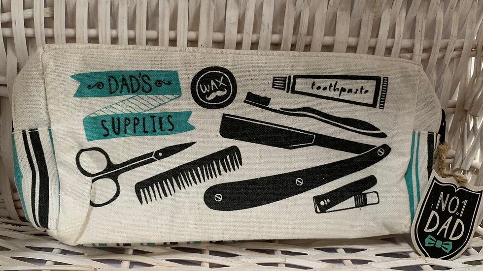 Dad's Supplies Wash Bag