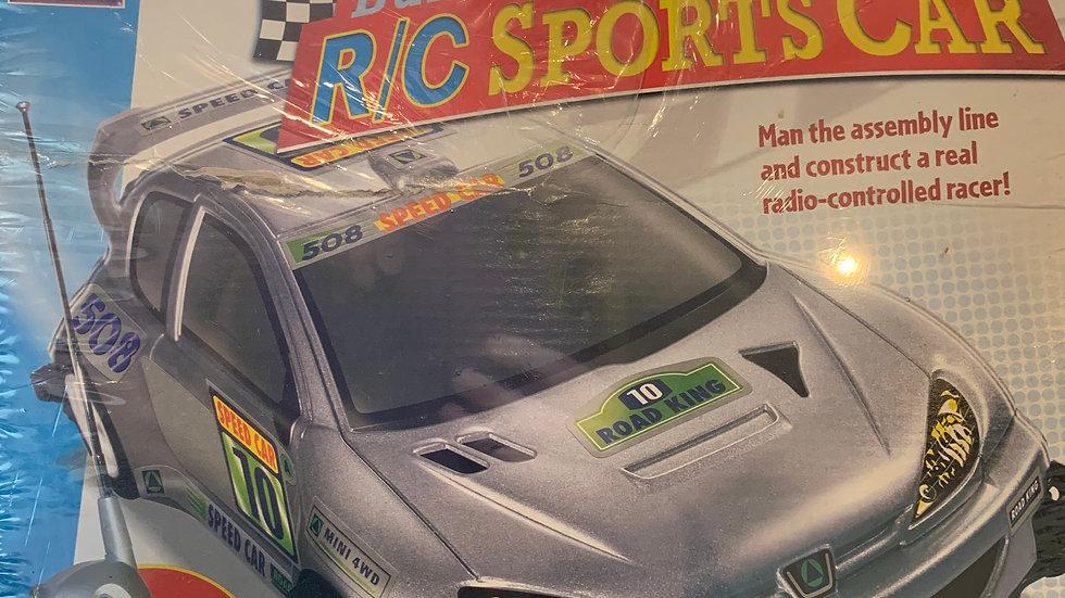 Build A R/C Sports Car Kit