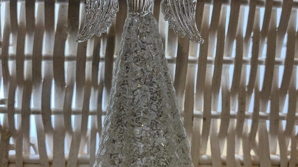 Glass Angel Ornament
