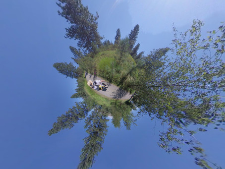 Using the Insta360 cameras, we can create fun photos for your weddings, its not all Virtual Reality