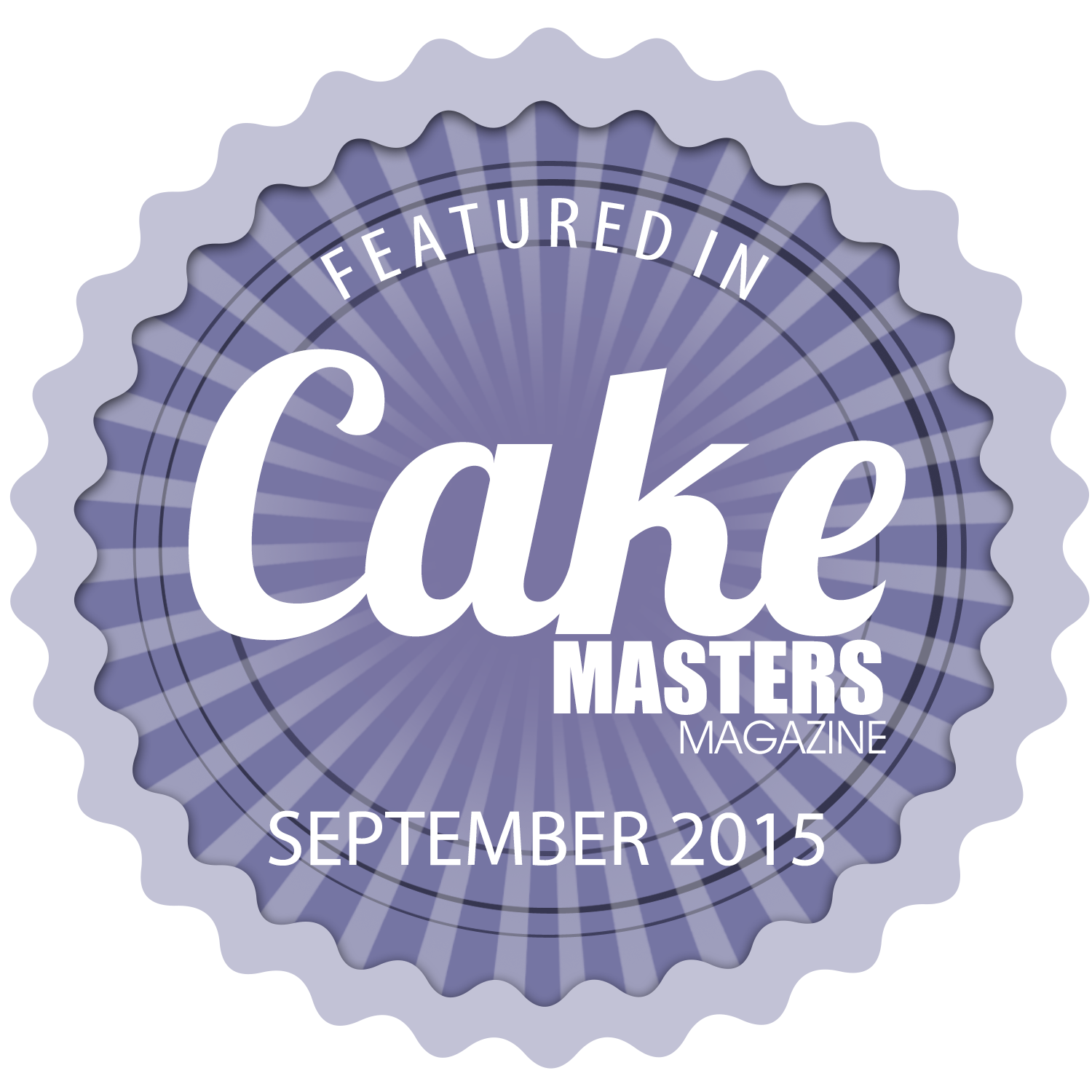 September 2015 Cake Masters Magazine Featured Badge.png