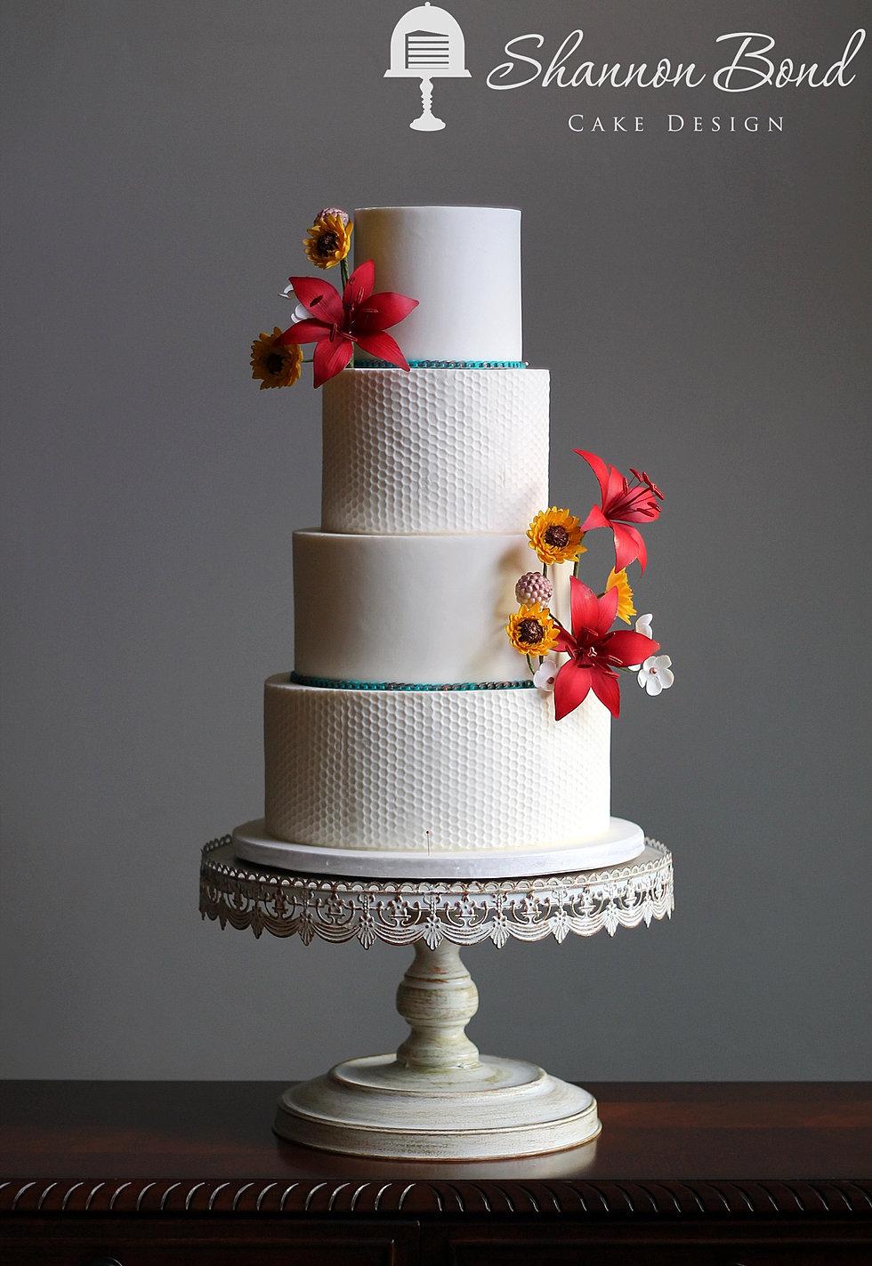 Sweet Texture Wedding Cake