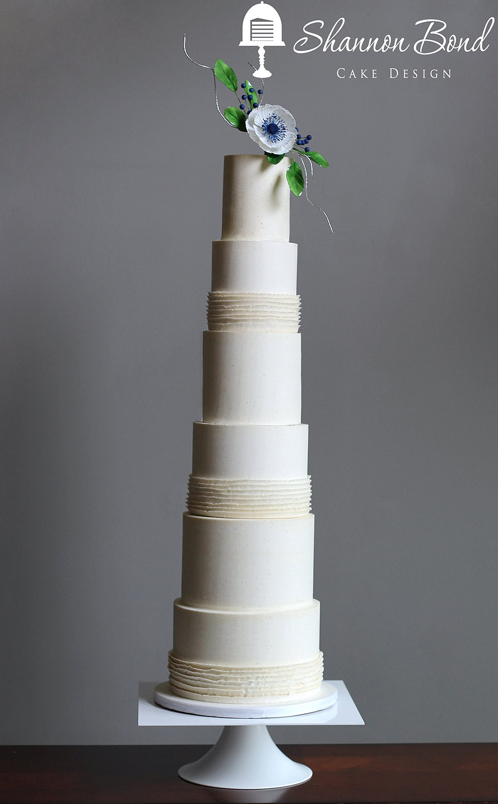 Couture Buttercream Wedding Cake