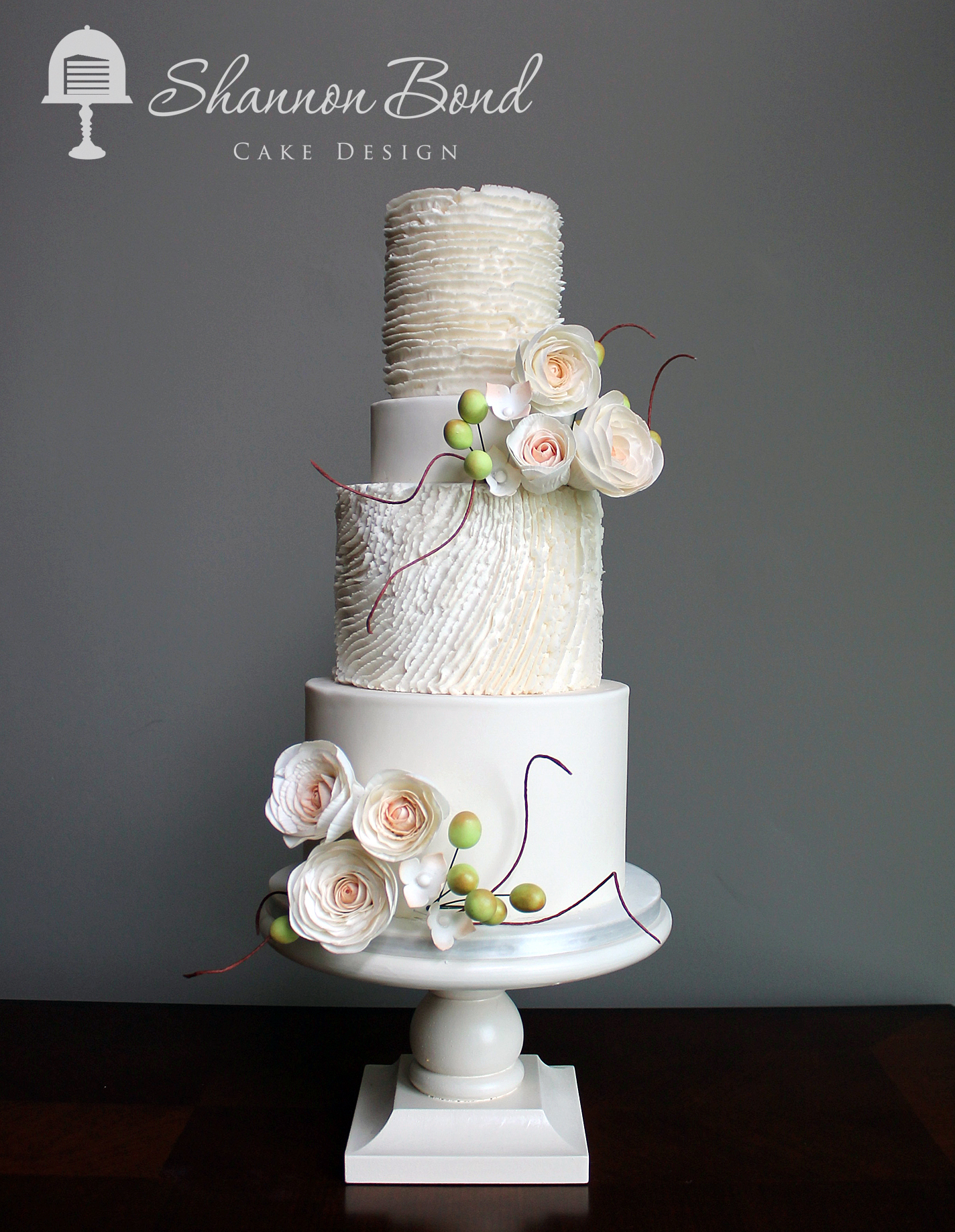 Simple But Beautiful Wedding Cakes