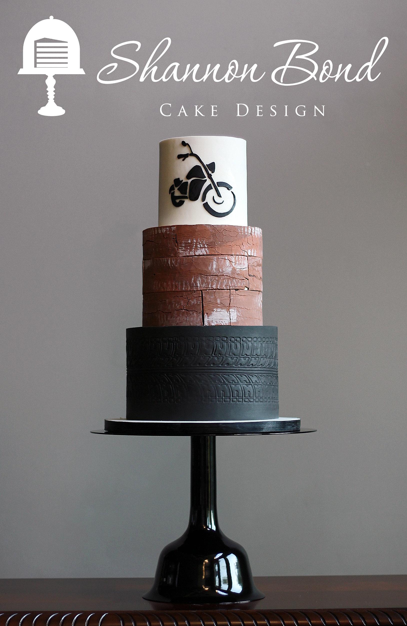 Cake Motorcycle Design