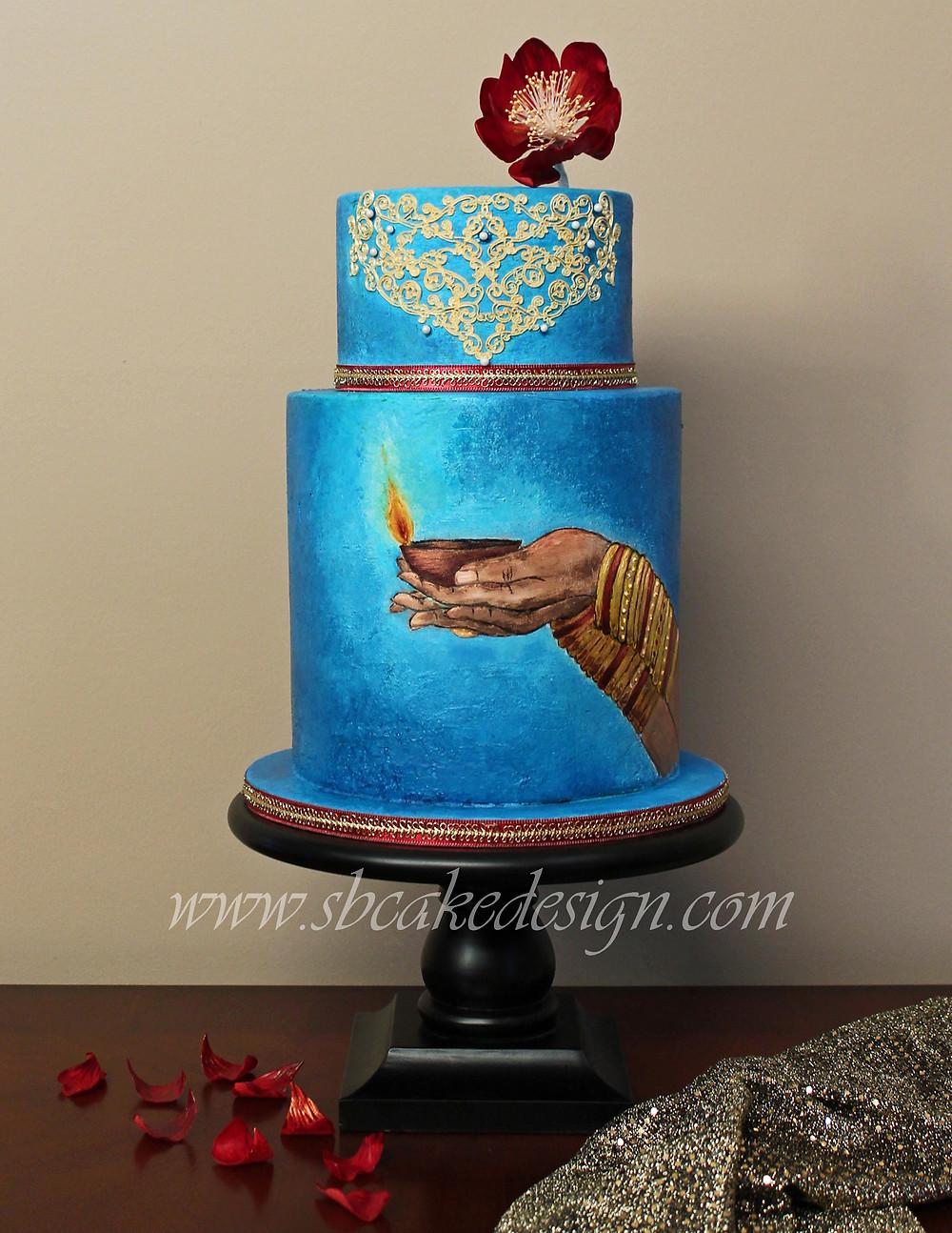 Shannon Bond Cake Design / Festival of Lights cake
