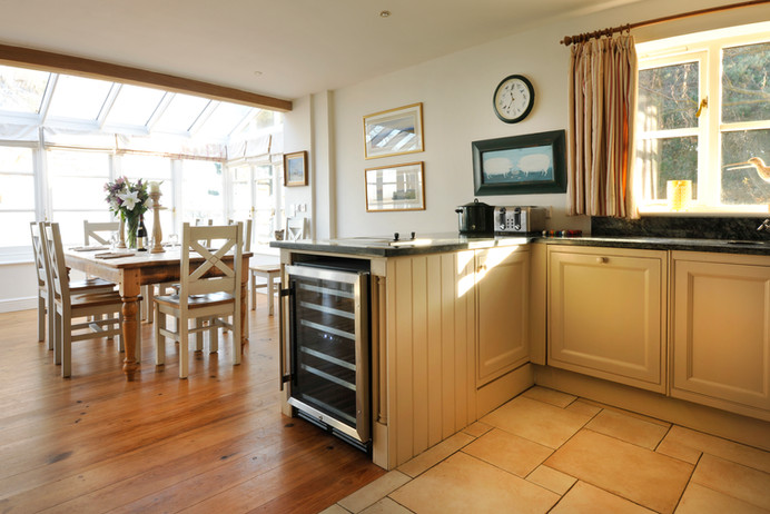 A kitchen with a view!