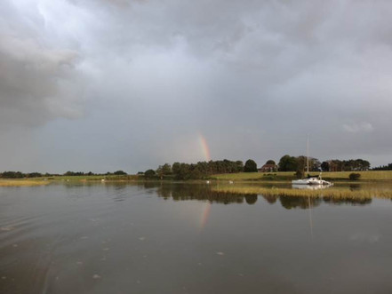 A rainbow from Lower Oaks