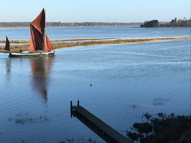 Signet, a Thames Barge