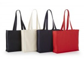 ATB6119 Heavy Cotton Canvas Tote With Gusset