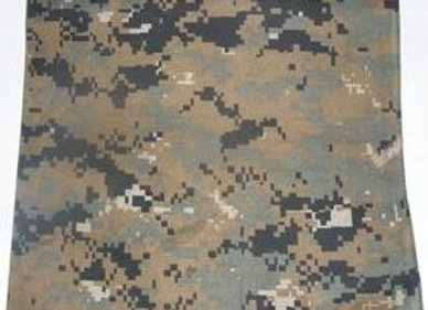BP5206 Digital camouflage pattern Bandana 22x22