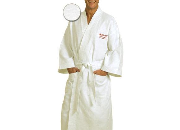 ABR48T  Italian Waffle Weave Bath Robe