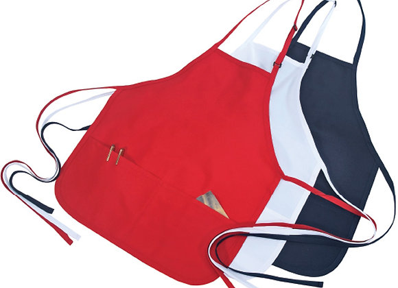 AA4200A Poly cotton Bib Apron