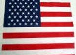 BP5200  100% Micro Polyester USA Flag Bandana