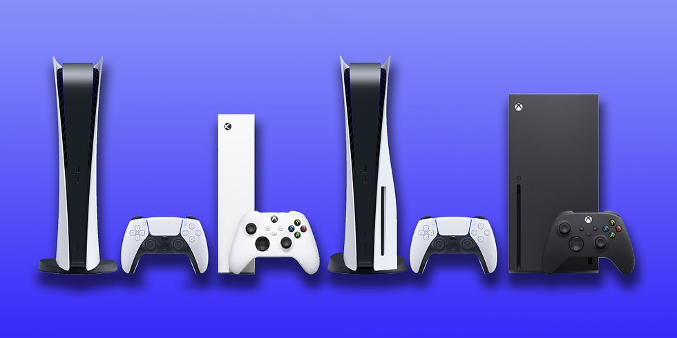 PS5 and Xbox Series X and S at National Videogame Museum Frisco,TX