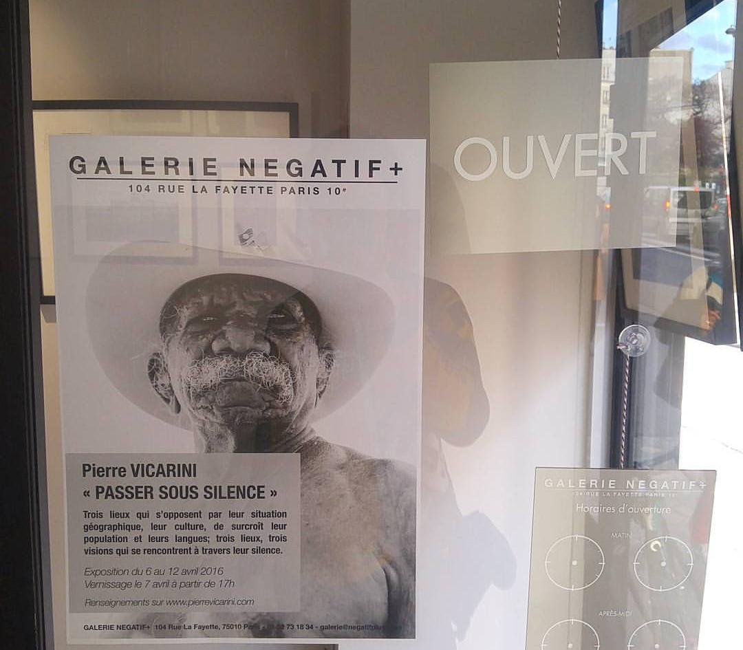 Galerie Négatif plus, Paris