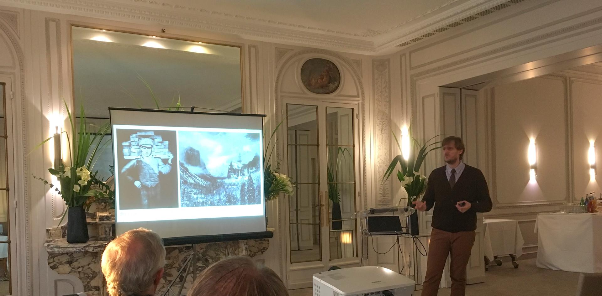 Conférence Automobile Club de France, Paris
