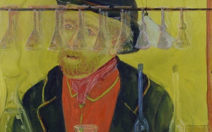 2016 - olie op doek 60 x 80 cm - Café Van Gogh