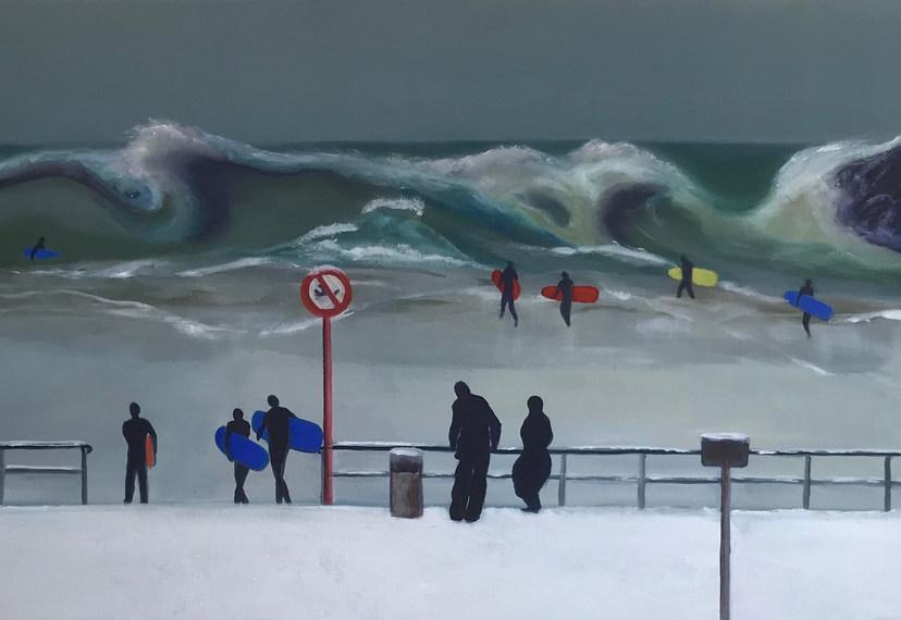 Storm, Sneeuw en Surfers