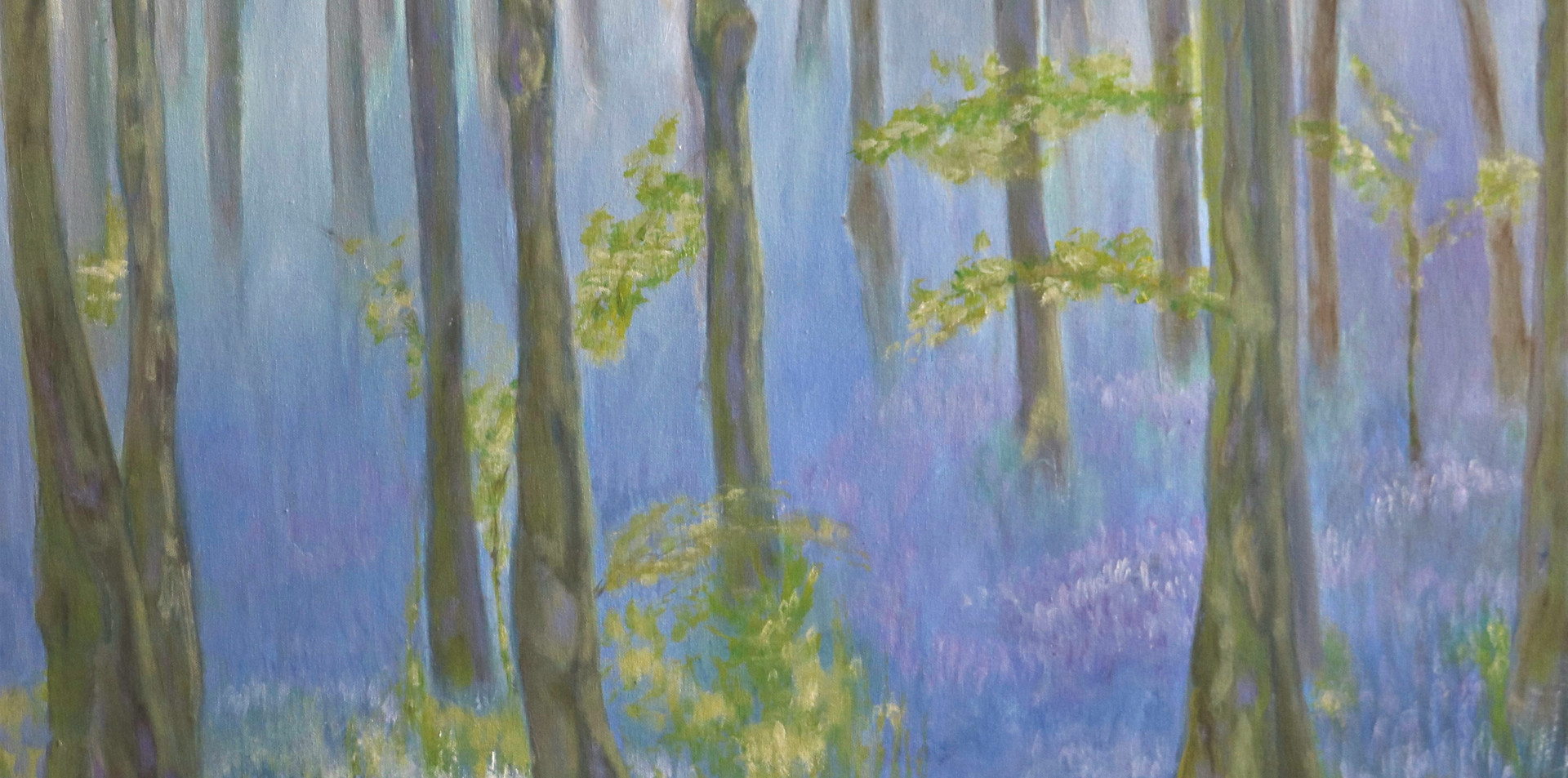 2015 - olie op doek 60 x 80 cm - Werner's droom