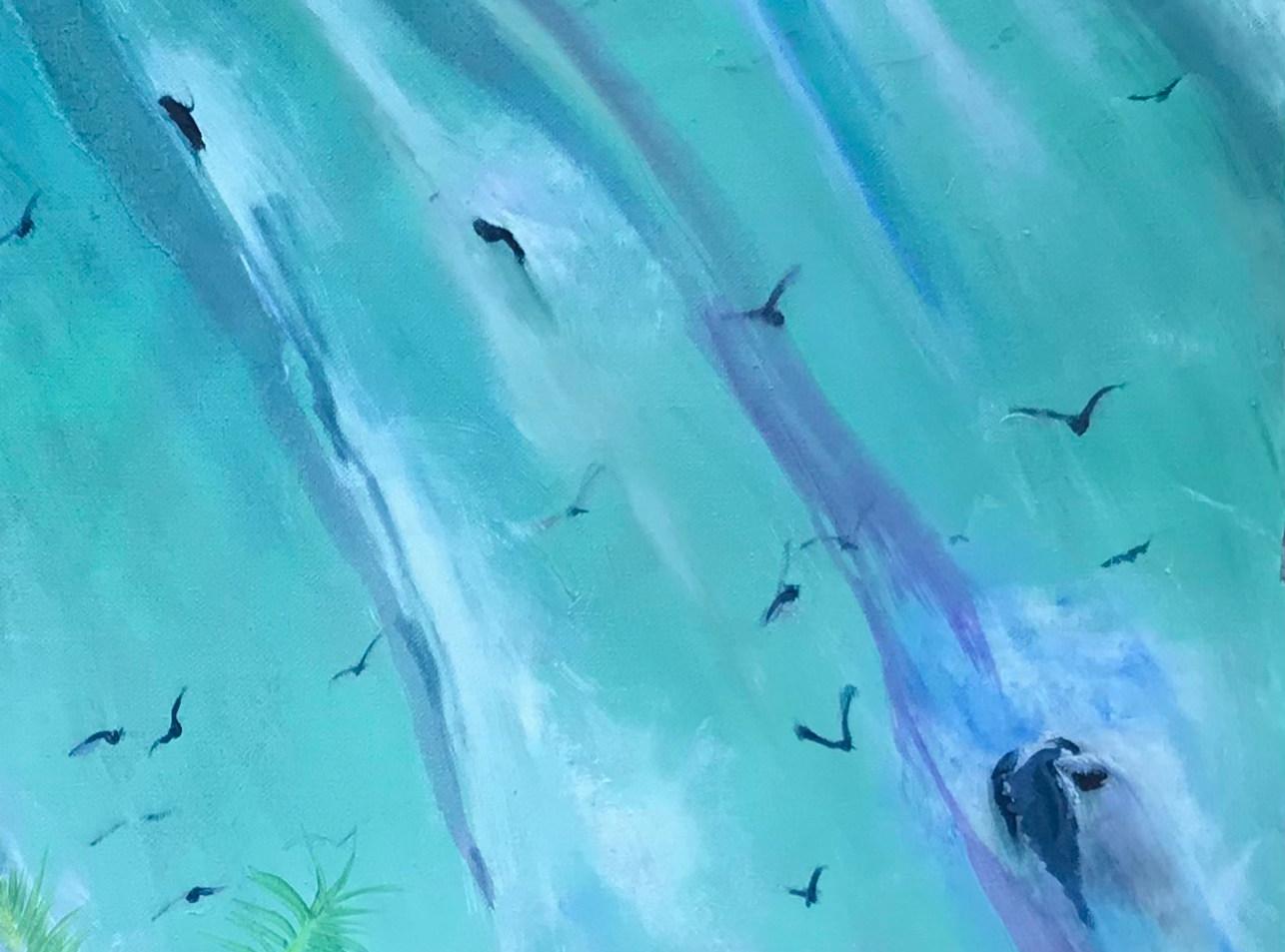 Herinnering aan de watervallen van de Iguaçu