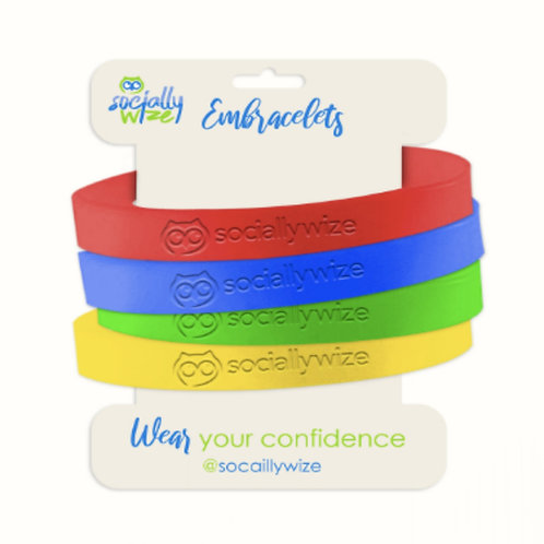 Embracelets - SociallyWize Wearables
