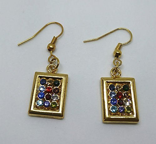 Stones of the breastplate earrings