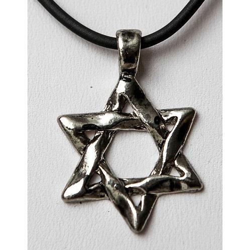 Inbar's Star of David necklace