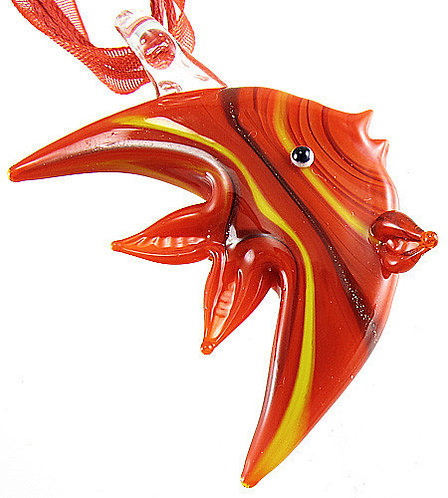 Murano Glass - Fish necklace