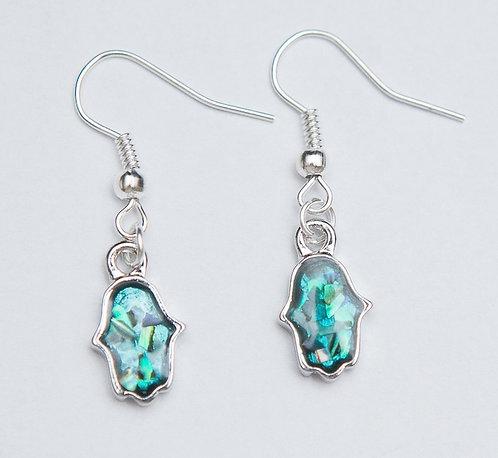 Opal Hamsah Earrings