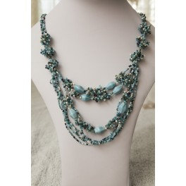 """""""Clear Sky"""" Necklace"""