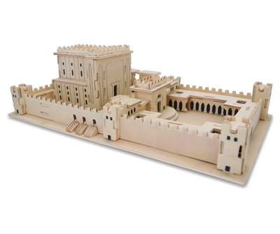 3D wooden puzzle - Holy Temple