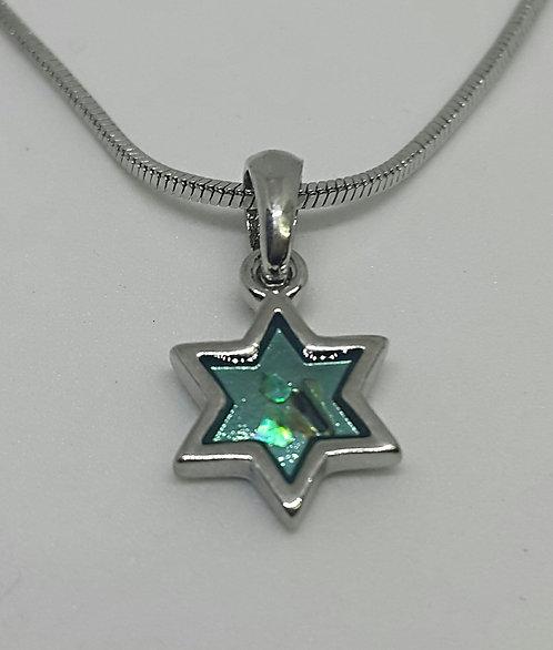 Turquoise Star of David