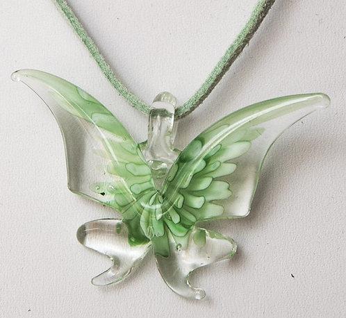 Murano Glass - Butterflies necklace