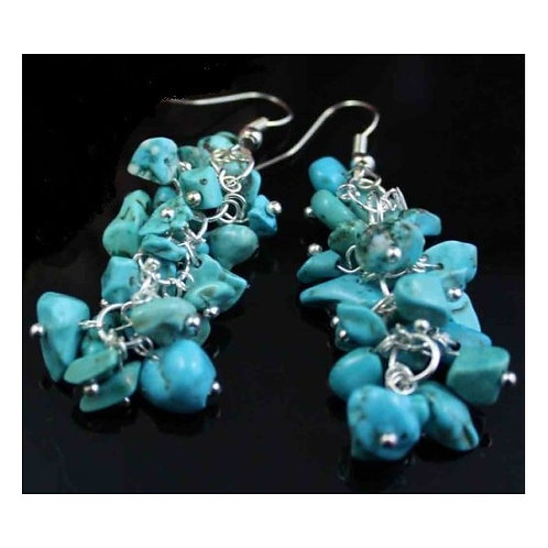 Natural turquoise stone Earrings