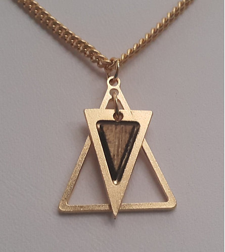 Hagar - gold Star of David necklace