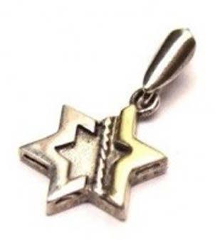 Star of David - Silver & Gold